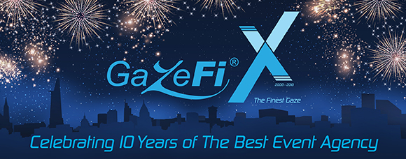 GazeFi X - Celebrating 10 Years of The Best Event Agency