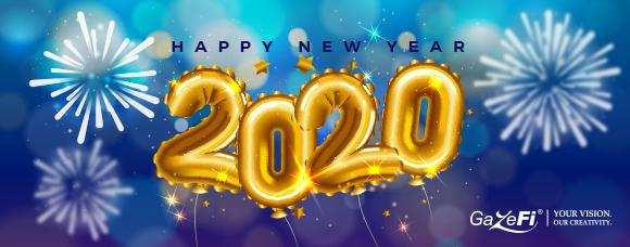 GazeFi - Happy New year 2020