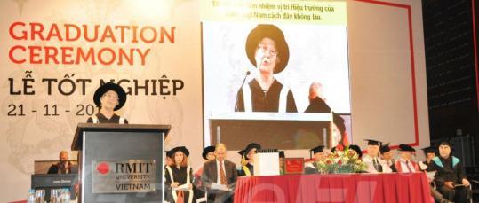 GazeFi Events Vietnam - Events Management - RMIT Graduation Ceremony Nov. 21 2012