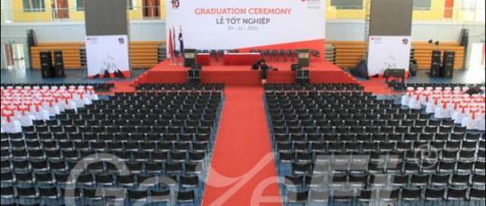 GazeFi Event Vietnam - Events Management - RMIT - Graduation Ceremony 2011