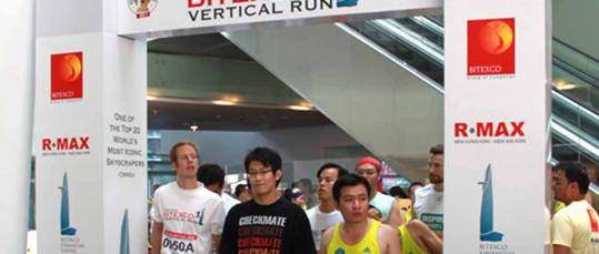 events vietnam | Bitexco Vertical Run 2011