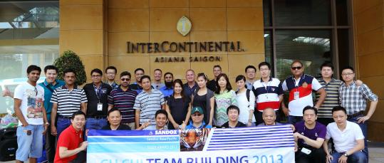 events vietnam | Team Building - Sandoz Tiger Award 2013