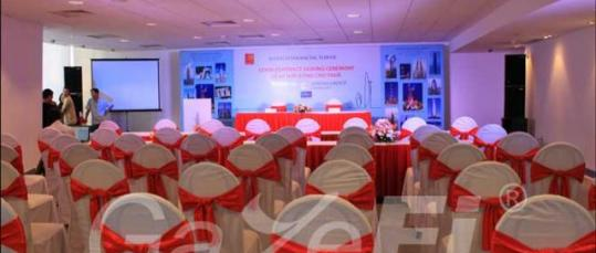 GazeFi Event Vietnam - Events Management - Bitexco Signing Ceremony