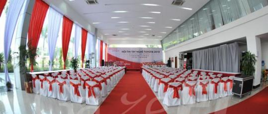 GazeFi Event Vietnam - Events Management - TOYOTA NATIONAL SKILLS CONTEST 2010