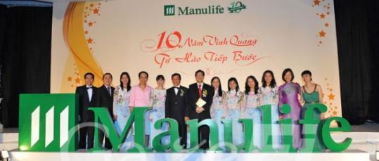 GazeFi Event Vietnam - Events Management - Manulife Annual Award Dinner 2009