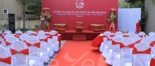 GazeFi Event Vietnam - Events Management - Grand Opening Ceremony of AIA Viet Nam New Head office