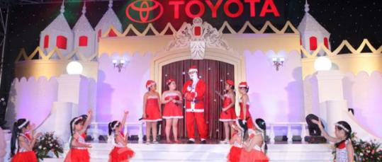 GazeFi Event Vietnam - Events Management - Toyota - Year End Party 2010 - Ha Noi