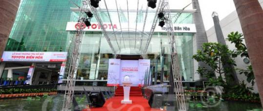 GazeFi Event Vietnam - Events Management - Opening Ceremony of Toyota Bien Hoa New Head office
