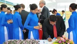events vietnam | Glatz Fine Paper Vietnam Grand Opening Ceremony