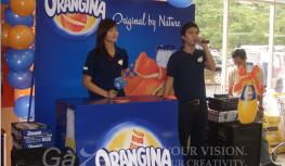 events vietnam | Activation: Orangina