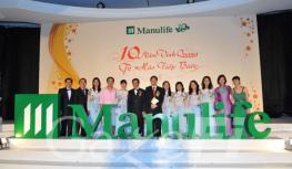 GazeFi Event Vietnam - Events Management - Manulife Annual Award Dinner 2009
