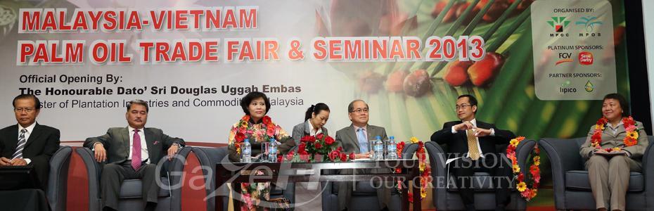 Malaysia - Vietnam Palm Oil Trade & Seminar 2013