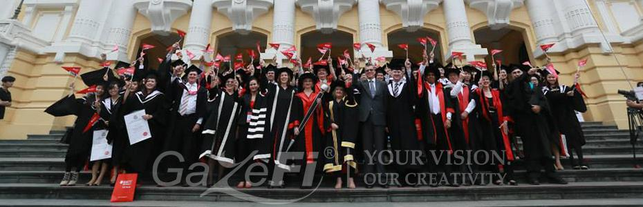 RMIT  Graduation Day 2013